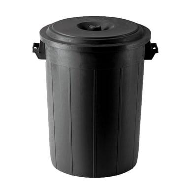 Bidone in plastica STEFANPLAST con coperchio 70 L