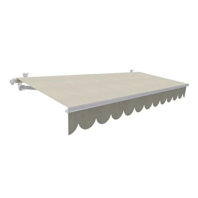 Tenda da sole a bracci estensibili manuale TEMPOTEST PARA' L 3 x H 2 m Cod. 15/1 beige