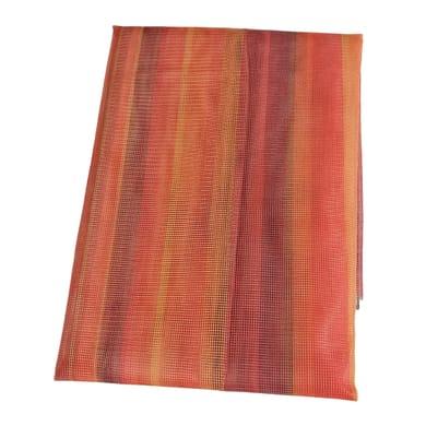 Tenda zanzariera ad anelli L 150 x H 170 cm arancione
