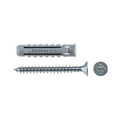 Tassello per materiale forato FISCHER SX, L 30 mm , Ø 6 mm, 100 pezzi