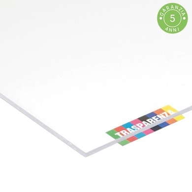 Vetro acrilico san trasparente 100 cm x 200 cm, Sp 2 mm