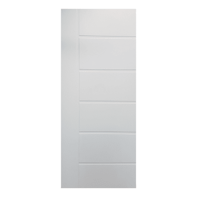 Pannello per porta blindata pellicolato bianco L 91 x H 209.5 cm, Sp 6 mm