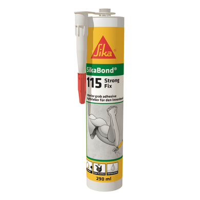 Silicone SIKA Sikabond-115 Strong Fix trasparente 290 ml