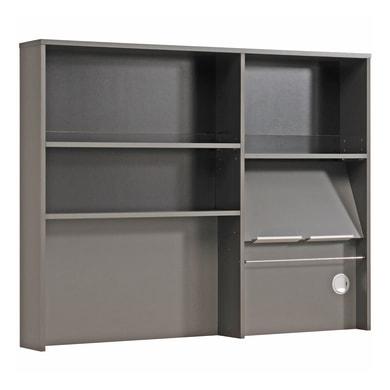 Base Moove grigio  L 120 x H 92.8 x P 15.4 cm