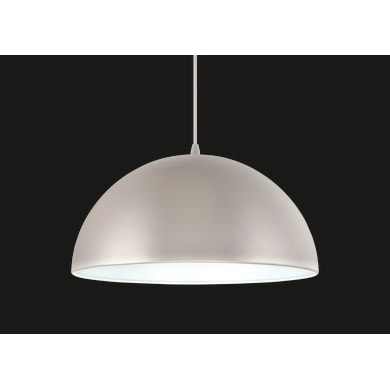 Lampadario Cedar argento, in metallo, diam. 38 cm, E27 MAX60W IP20 INSPIRE