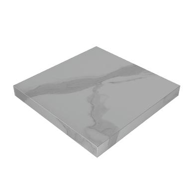 Piano di lavoro in laminato bianco L 304 x P 63 cm, spessore 3.8 cm