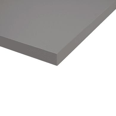 Piano cucina su misura in fenix tm Londra grigio , spessore 4 cm