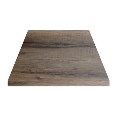 Piano cucina su misura in truciolare Wood rovere chiaro , spessore 4 cm
