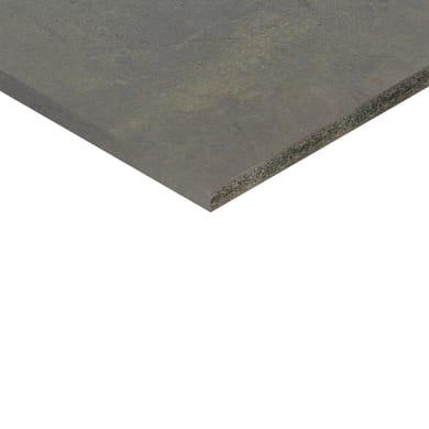Piano cucina su misura in truciolare Ares Corten ossido , spessore 4 cm
