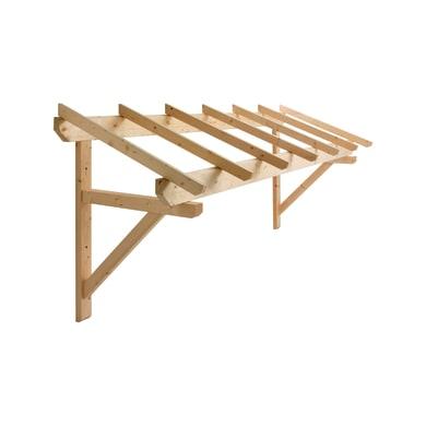 Tettoia in legno L 299 x P 70 cm struttura Legno
