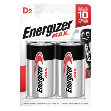 Pila alcalina LR20 D ENERGIZER 2 batterie