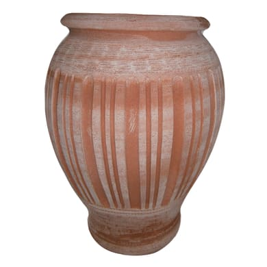 Vaso Assortite in terracotta colore cotto H 47 cm, Ø 32 cm