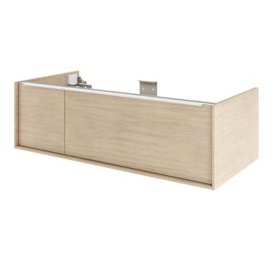 Mobile da bagno sotto lavabo L 105 x P 48 x H 32 cm in mdf quercia di campagna