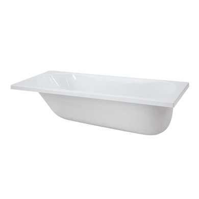 Vasca rettangolare Egeria bianco 75 x 170 cm