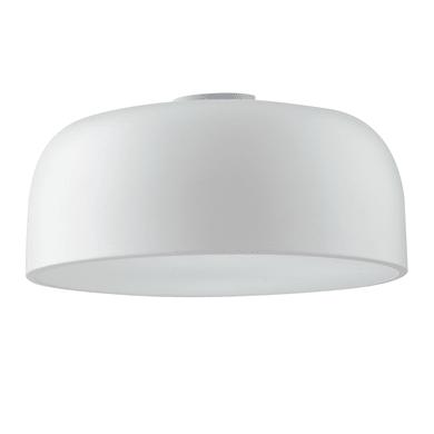 Plafoniera Bistrot bianco, in metallo, 50x50 cm, diam. 38 cm, E27 3xMAX60W IP20