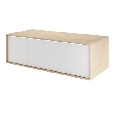 Mobile da bagno sotto lavabo L 105 x P 48 x H 33 cm in mdf beige
