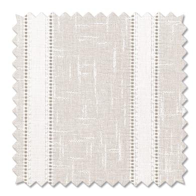 Tessuto al taglio Boucle bianco 80 cm