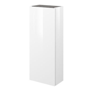 Colonna 1 anta L 30 x P 17 x H 75 cm bianco laccato SENSEA