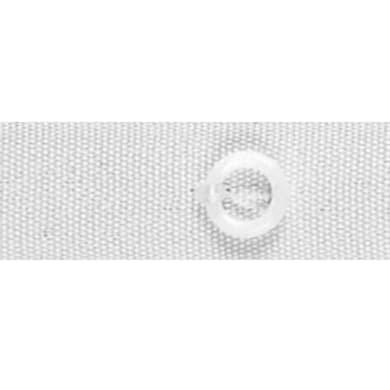 Fettuccia per tende a pacchetto con anelli bianco 1.6 cm x 100 m