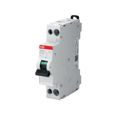 Interruttore magnetotermico ABB ELSN201LC6 1P+N 6A 4.5kA C 1 modulo 230V