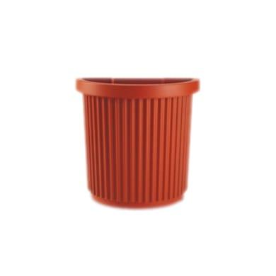 Vaso Egeo in plastica colore cotto H 53 cm, L 70 x P 36 cm