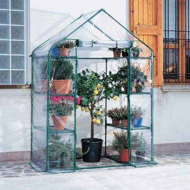 Serra da giardino VERDEMAX SERRA IBISCUS H 200 cm, L 140 x P 72 cm