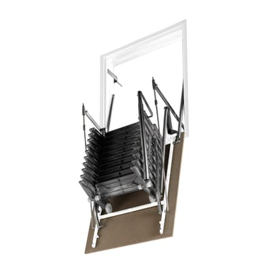 Scala retrattile Aci Alluminio 70 x 110 cm
