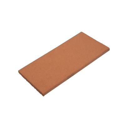 Lastra terracotta 14.3 x 29.2 cm Sp 15 mm rosso naturale  0.042 mq