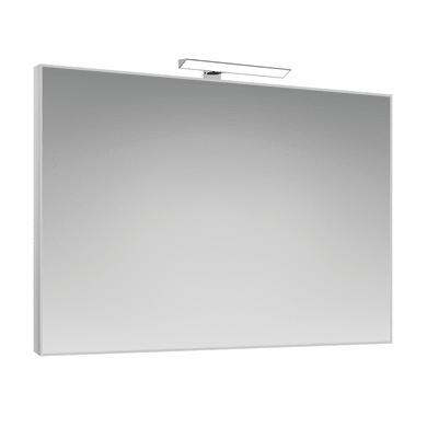 Specchio con faretto bagno rettangolare Frame L 70 x H 100 cm