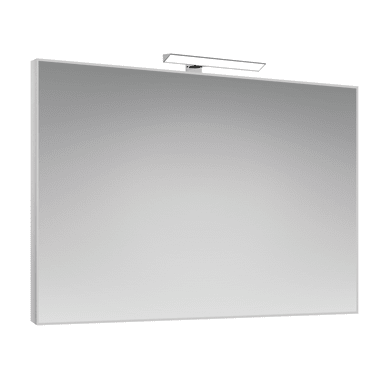 Specchio con illuminazione integrata bagno rettangolare Frame L 70 x H 100 cm