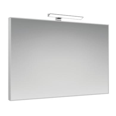 Specchio con faretto bagno rettangolare Frame L 70 x H 90 cm