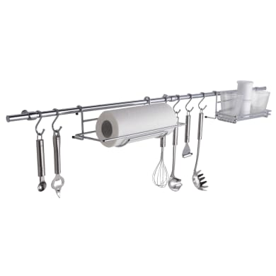 Supporti mensole da appoggiare argento P 11 cm x L 295 x H 610 mm
