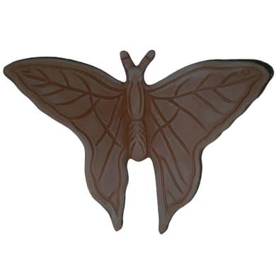 Decorazione in terracotta Farfalla L 16 x H 11 cm