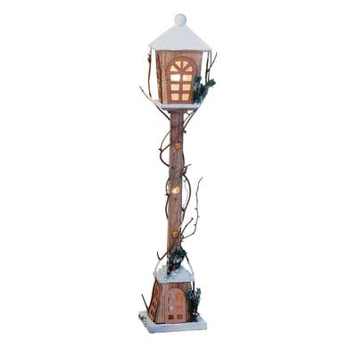 Lampione in legno , L 19 cm  x P 19 cm