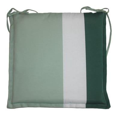 Cuscino per sedia Rigone verde 40x40 cm