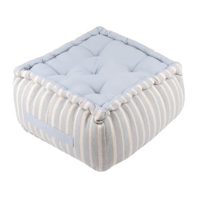 Cuscino da pavimento Maxime grigio 40x40 cm