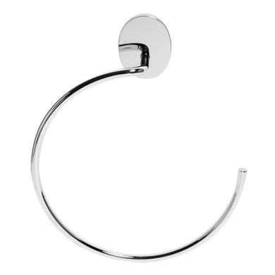 Porta salviette ad anello Bird acciaio  cromato L 20 cm