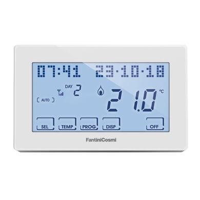 Termostato intelligente e connesso FANTINI COSMI Touchscreen bianco