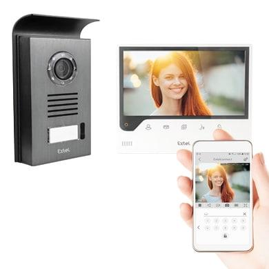 Videocitofono ip monofamiliare  EXTEL 720308 2 fili