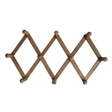 Appendiabiti in legno 10 ganci