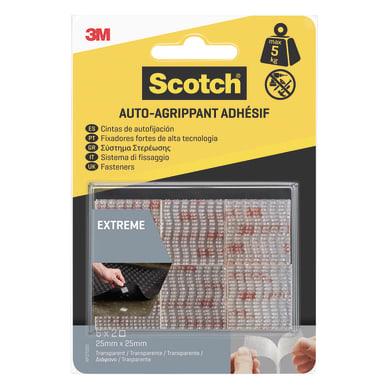 Velcro Adesivo 25 mm x 2.5 cm 12 pezzi