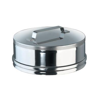 Copri buco Tappo Cieco inox Dn 80 mm in inox 316l (elevata resistenza in condizioni climatiche estreme)