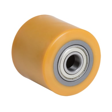 Ruota TELLURE in poliuretano giallo Ø 80 cm