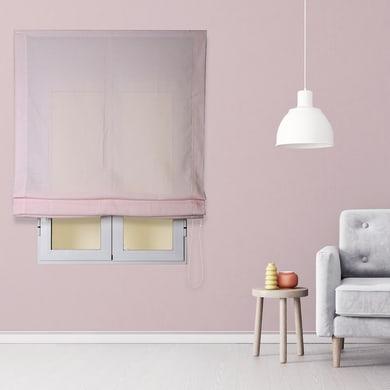 Tendina pieghevole in tessuto INSPIRE Aire rosa 180x180 cm