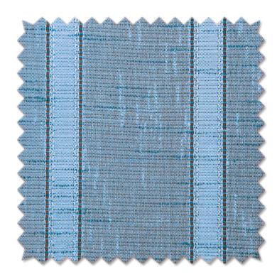 Tessuto al taglio Boucle azzurro 80 cm