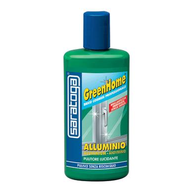 Pulitore SARATOGA GreenHome per alluminio e inox e cromato 0.25 L