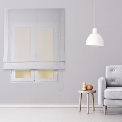 Tenda a pacchetto INSPIRE Flamen bianco 150x175 cm