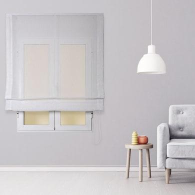 Tenda a pacchetto INSPIRE Flamen bianco 75x175 cm