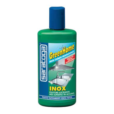 Pulitore SARATOGA GreenHome Inox per alluminio, inox e cromato 0.25 L