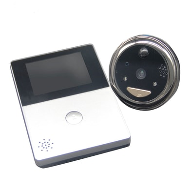 Spioncino elettronico per porta blindata